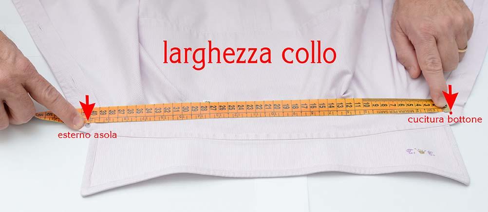 reputable site 05f87 b0905 Come prendere le misure – Tailored Italian – Camicie Su Misura